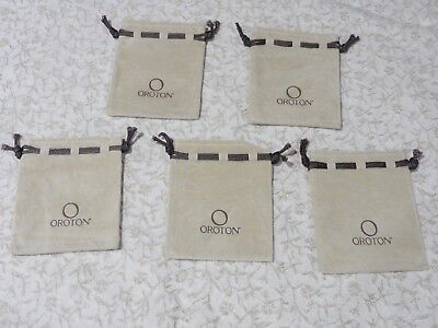 5 Small Jewellery Storage Bags by Oroton