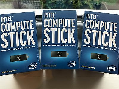 Intel 1St Generation Compute Stick With Intel Atom Proce Boxstck1A8Lfc Brand New