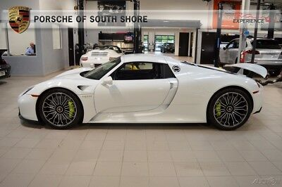 2015 Porsche Other 918 Spyder Warranty 1 Owner Delivery Miles Warranty Front Axle Lift HomeLink Stone Guard