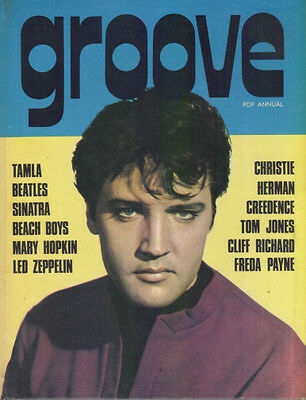 GROOVE POP ANNUAL - 1970s ELVIS BEATLES STONES T REX TAMLA CLIFF LED ZEP WHO