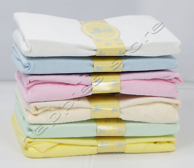Brand New BeeBo Terry Towel Fitted Sheet Cot Bed Pram Baby Girls Boys