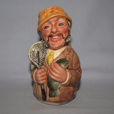 Royal Doulton Doultonville toby FRED FLY the FISHERMAN D6742