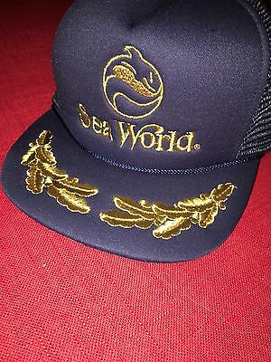 Vintage Sea World Cap hat 1985 - Trucker Cap