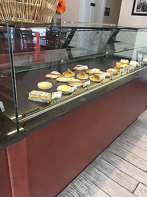 Refrigerated European Pastry Display Case