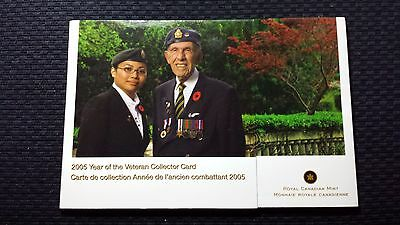 2005 Canada Commemorative Coin Set - Year Of The Veteran
