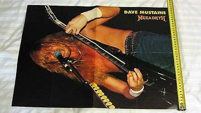 Poster Megadeth+Mr.Big  All the posters are original.(Size A-2)