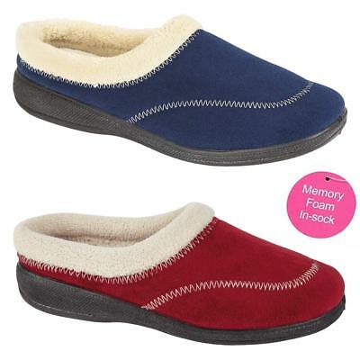Ladies Slippers Women Girls Winter Warm Fur Luxury Memory Foam Slippers Shoes