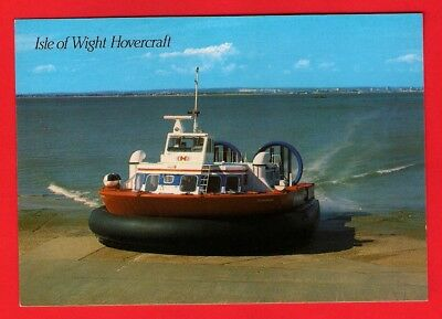 Postcard - Isle of Wight Hovercraft - Hovertravel: Perseverance - Salmon: 1990s