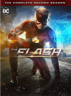 New The Flash: The Complete Second Season 2 (DVD, 2016, 6-Disc Box Set)