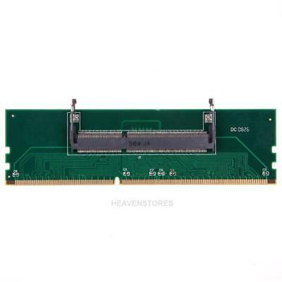 Practical DDR3 Laptop SO-DIMM to Desktop DIMM Memory RAM Connector Adapter DDR3