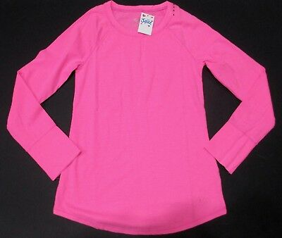 Justice Girls Size 8 Long Sleeve Pink Top New With Tags