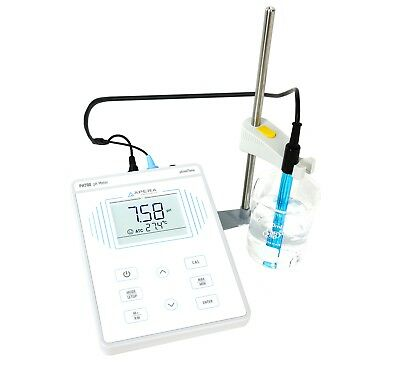 Apera Instruments PH700 Benchtop Lab pH Meter, 0.01 pH Accuracy, 0-14 pH Range