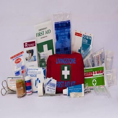 First Aid Kit Work Vehicle Small Zip Soft Pouch