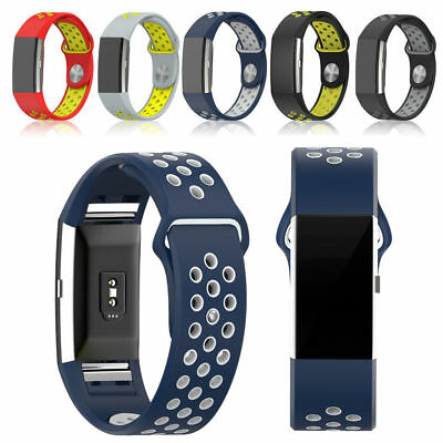 Replacement Silicone Sports Band Bracelet Strap For Nike FITBIT CHARGE 2