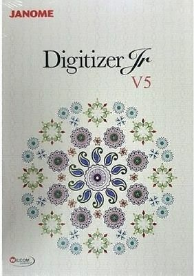 Janome Digitizer Junior V5 Software