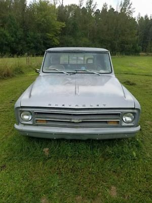 1967 Chevrolet C-10  1967 c10 long bed project truck