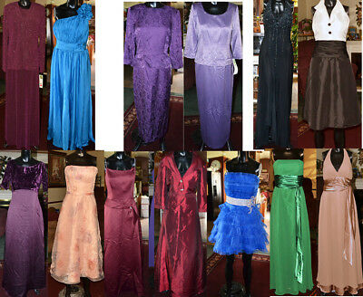 Mixed lot of 14 Formal Dresses. Prom, Bridesmaid, MOB, Pageant sizes 6-18 resale