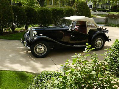 1952 MG T-Series Roadster 1952 MG-TD Roadster