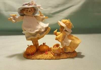 "*Signed* Cherished Teddies 4042749 Eliza ""Autumn is in the Air"" Limited Edition"