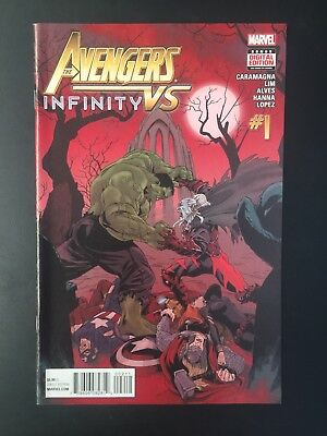 B10 ~ Marvel Comics ~ #1 ~ The Avengers vs Infinity ~ free post
