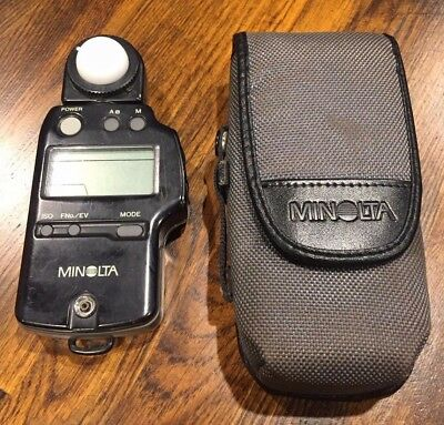 Minolta Auto Meter IV F Incident Light And Flash Meter Autometer IVF