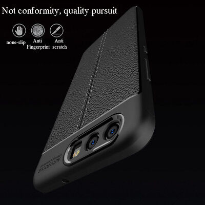 Vintage Case Premium PU Leather Soft TPU Back Cover Pouch For Huawei P9/P10 Lite