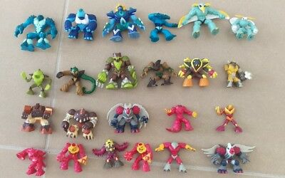 REDUCED Collection of Gormiti figures x 23 characters, inc series 1 2007 rare