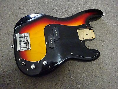 Vintage Torch Precision Style Bass Body Sunburst fully loaded made in Korea