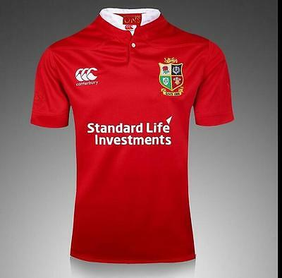 2016-2017 British and irish lions Rugby Jersey  Short Sleeve