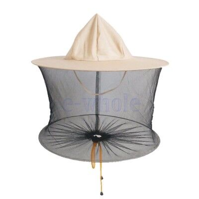 Apiculteur Beekeeper Hat Abeille Mosquito Insect Net Head Face Protector KK