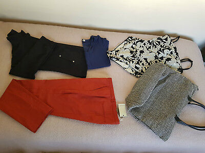 LADIES BULK CLOTHES SIZE 14,COUNTRY ROAD PANTS NEW with TAGS & USED CLOTHES