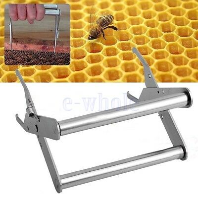 Porte cadre ruche Capture Nest Box Lifter Beekeeping Steel Spring Clamp Clip KK