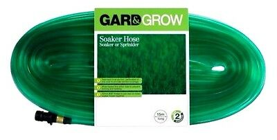 Gard & Grow SOAKER HOSE Soaker or Sprinkler 7.5m Long