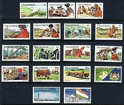 TRANSKEI 1976 SG 1 - 17 MH...Scenes & Occupations
