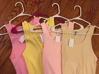 Lot of 10 Women's Tank Tops Beater, Various Colors, Size XL & 2XL, New with Tags