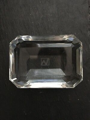 tiffany and co Crystal Paperweight