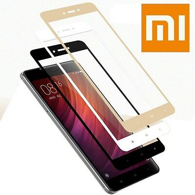 Full Tempered Glass Screen Protector for Xiaomi Redmi Note 4 4X Global Version
