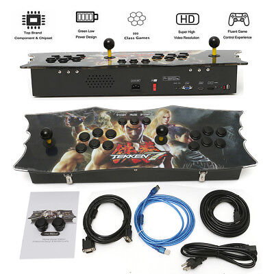 986 In 1 Arcade Game Console Retro Pandora's Box 5s Fight Games Gamepad HDMI VGA