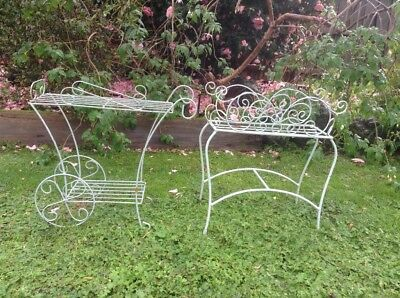 2 Old Fashioned planter stands. Big clear out as we are doing a knock down.