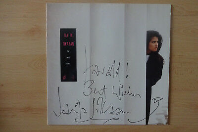 "Tanita Tikaram Autogramm signed LP-Cover ""The Sweet Keeper"" Vinyl"