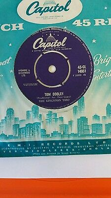 The Kingston Trio - Tom Dooley (Capitol CL 14951) VG+