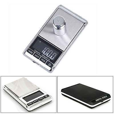 0.1g to 1000 Grams Electronic Digital Pocket Scales Mini Gold Jewellery Weighing
