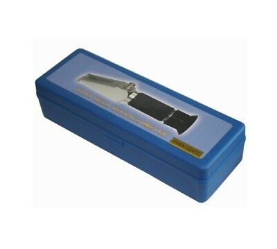 Free shipping refractometer hard case w/ inside liner refractometer protect box
