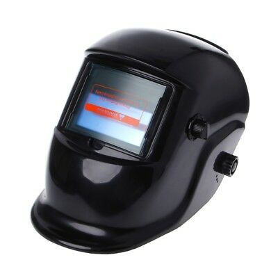 Pro Solar Powered Auto Darkening Welding Helmet Grinding Welder Mask Black New
