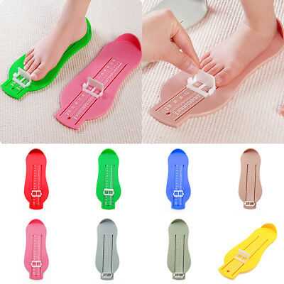 Baby Foot Fitting Device Kids Feet Lenght Ruler Shoe Size Measure Gauge Tool