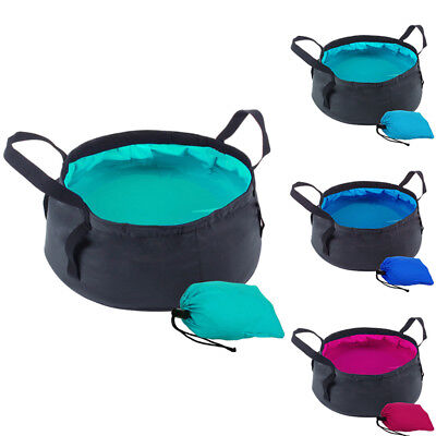 8.5L Portable Washing Basin Fordable Collapsible Bucket For Camping/Fishing