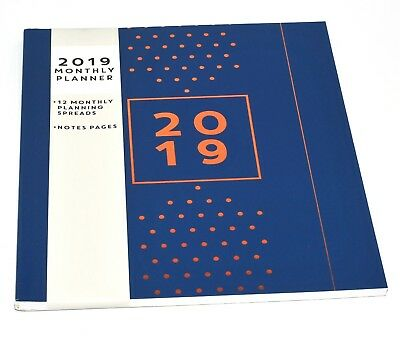 2019 Monthly Planner Large Month To View Diary Calendar