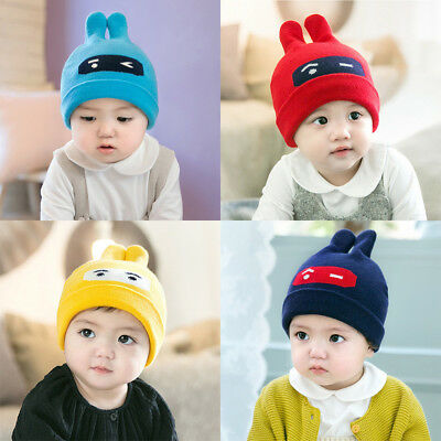 2017 Newest Winter Kids Baby Keep Soft Warm Cute Elasticity Caps Hats