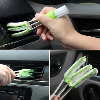 Double-Head Car Cleaning Brush Tools Duster Auto Cleaning Accessories Products