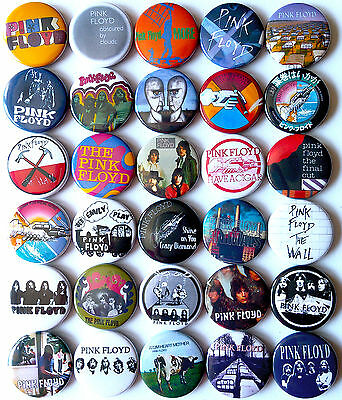 PINK FLOYD Set#2 Wish You Were Here Animals More Pins Buttons Badges Lot of 30